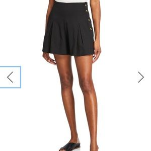 Vince High Rise Front Pleat Short